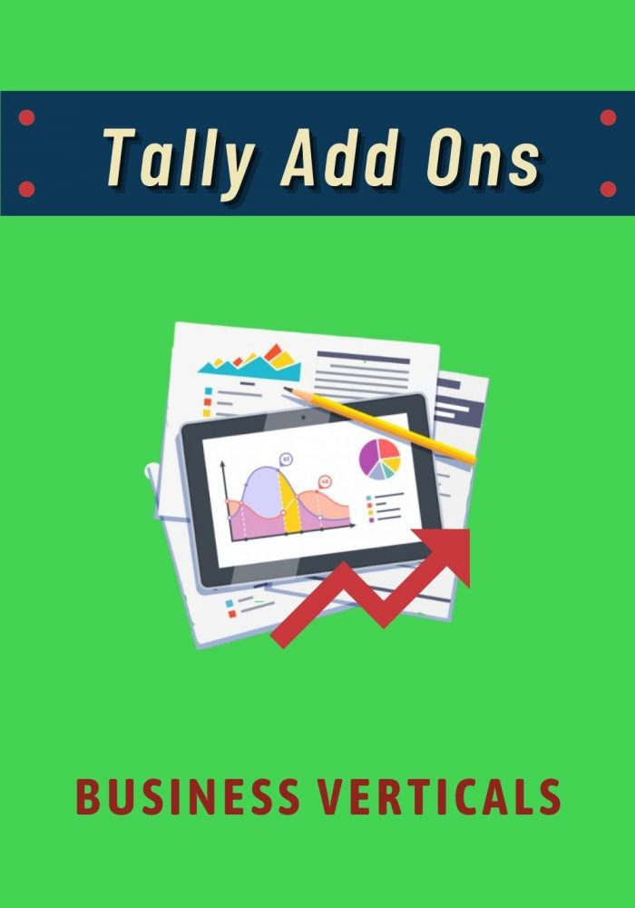 Tally Add Ons - Business Verticals